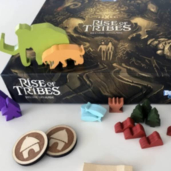 Rise of Tribes Deluxe Upgrade Kit components