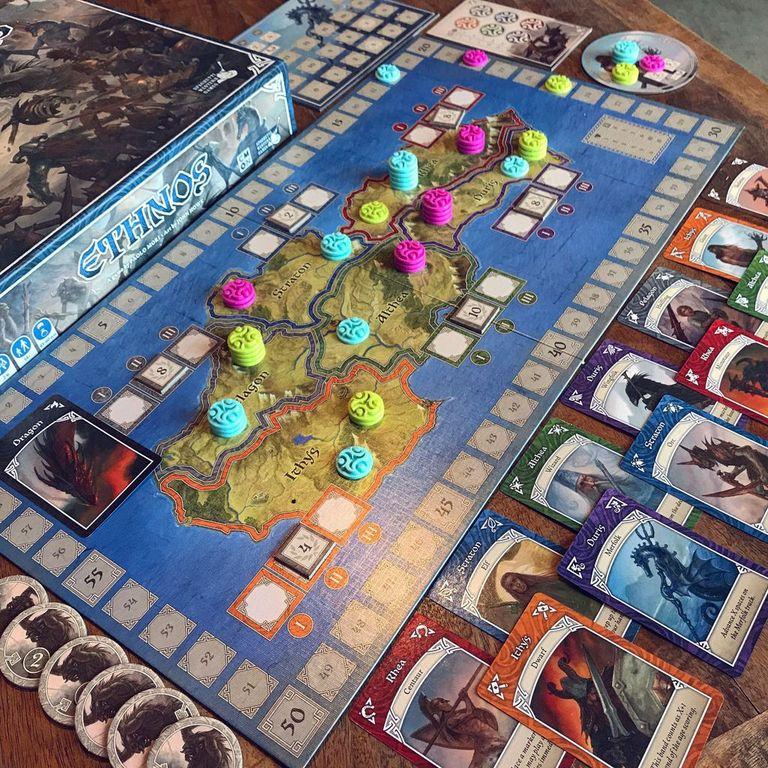 Ethnos gameplay