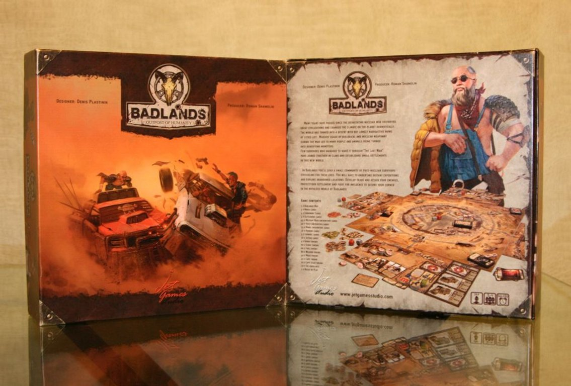 Badlands: Outpost of Humanity box