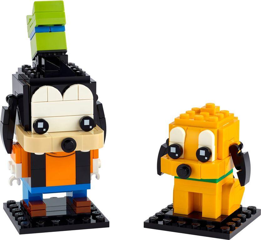 LEGO® BrickHeadz™ Goofy & Pluto components