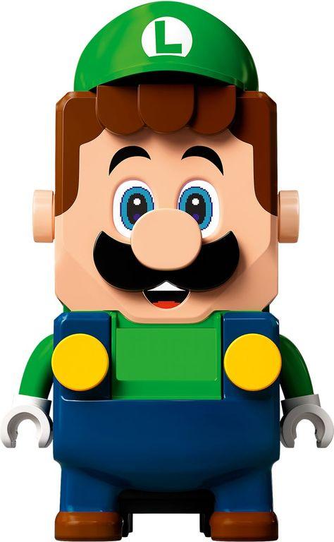 LEGO® Super Mario™ Adventures with Luigi Starter Course components