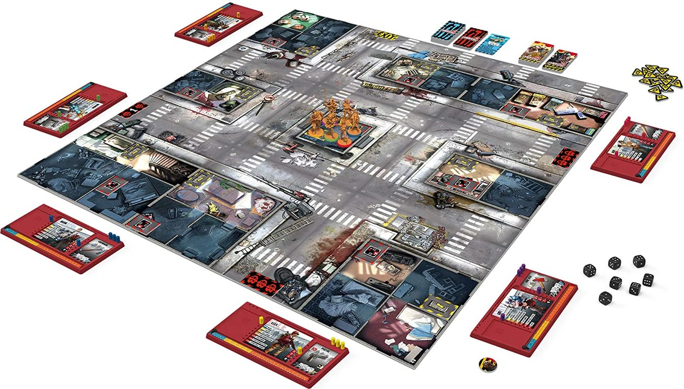 Zombicide: 2nd Edition components