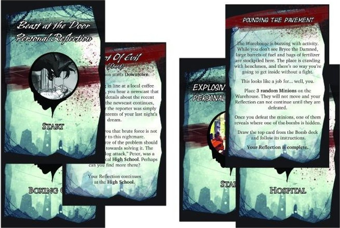 Of Dreams and Magic: The Shared Dream cards