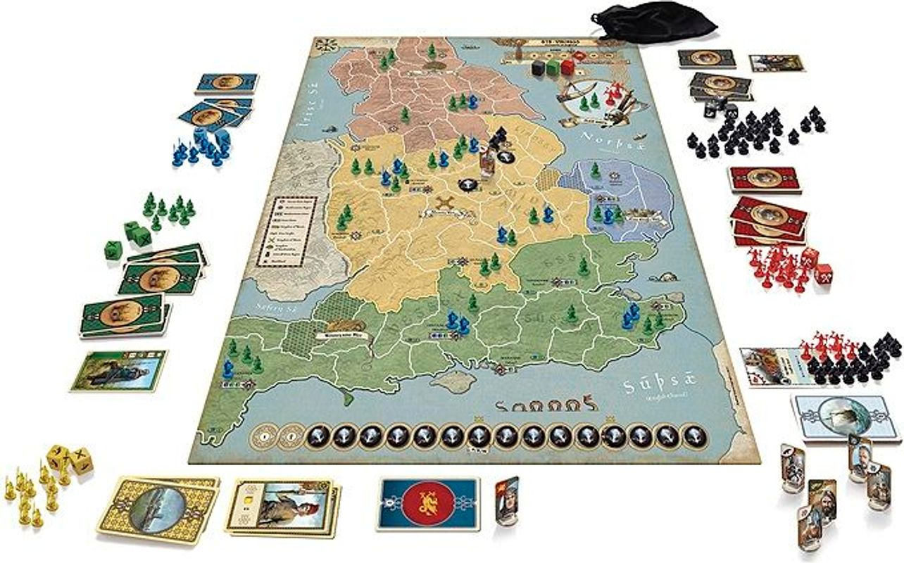 878: Vikings - Invasions of England components