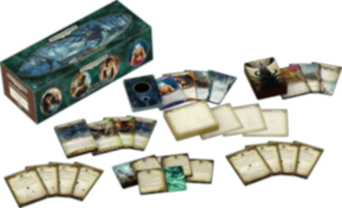 Arkham Horror: The Card Game - Return to the Dunwich Legacy components