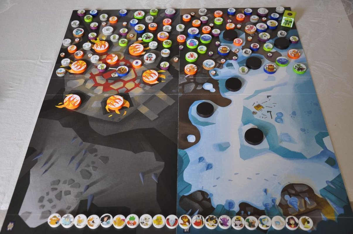 Catacombs (third edition) game board