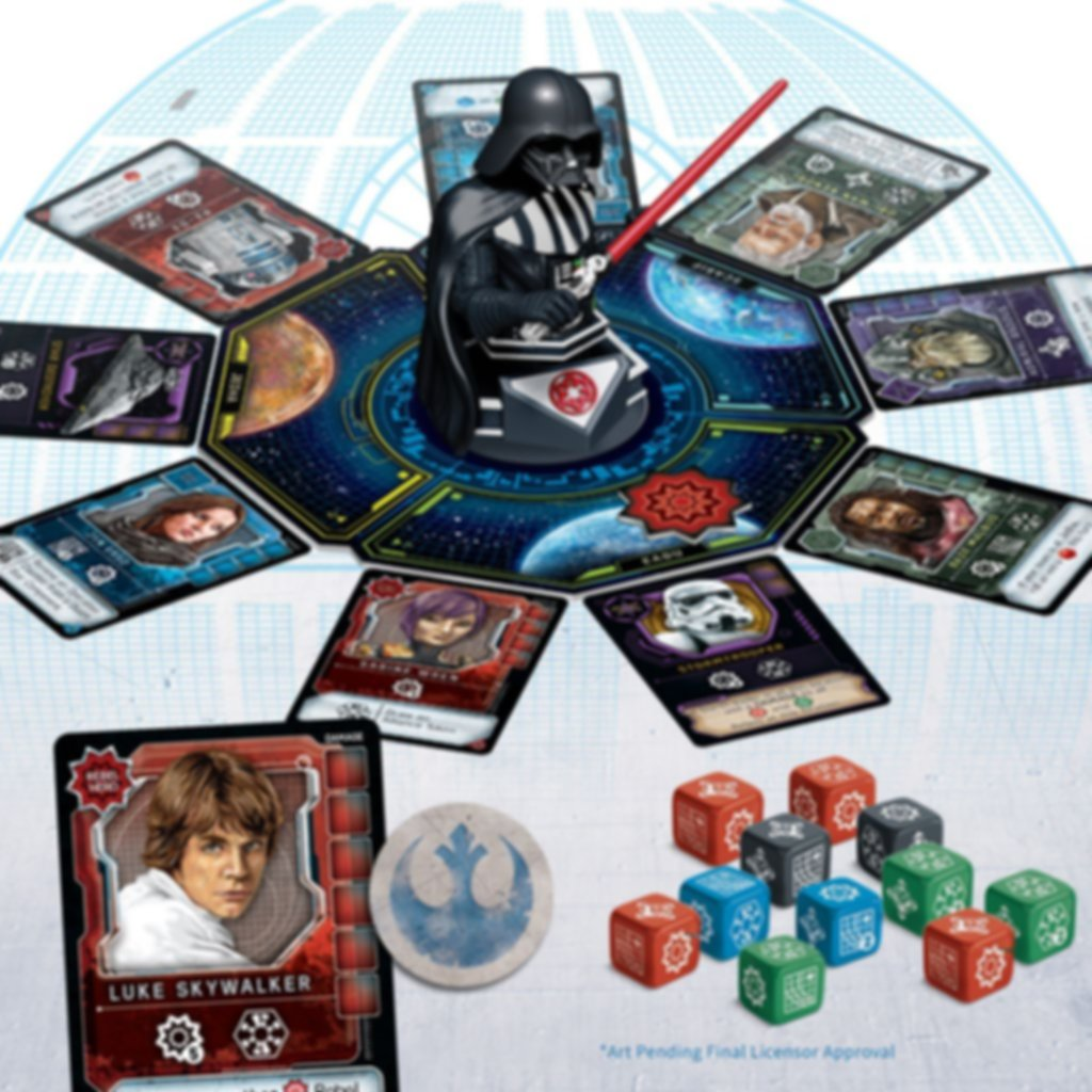 Star Wars: Dark Side Rising components