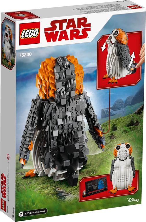 LEGO® Star Wars Porg™ back of the box