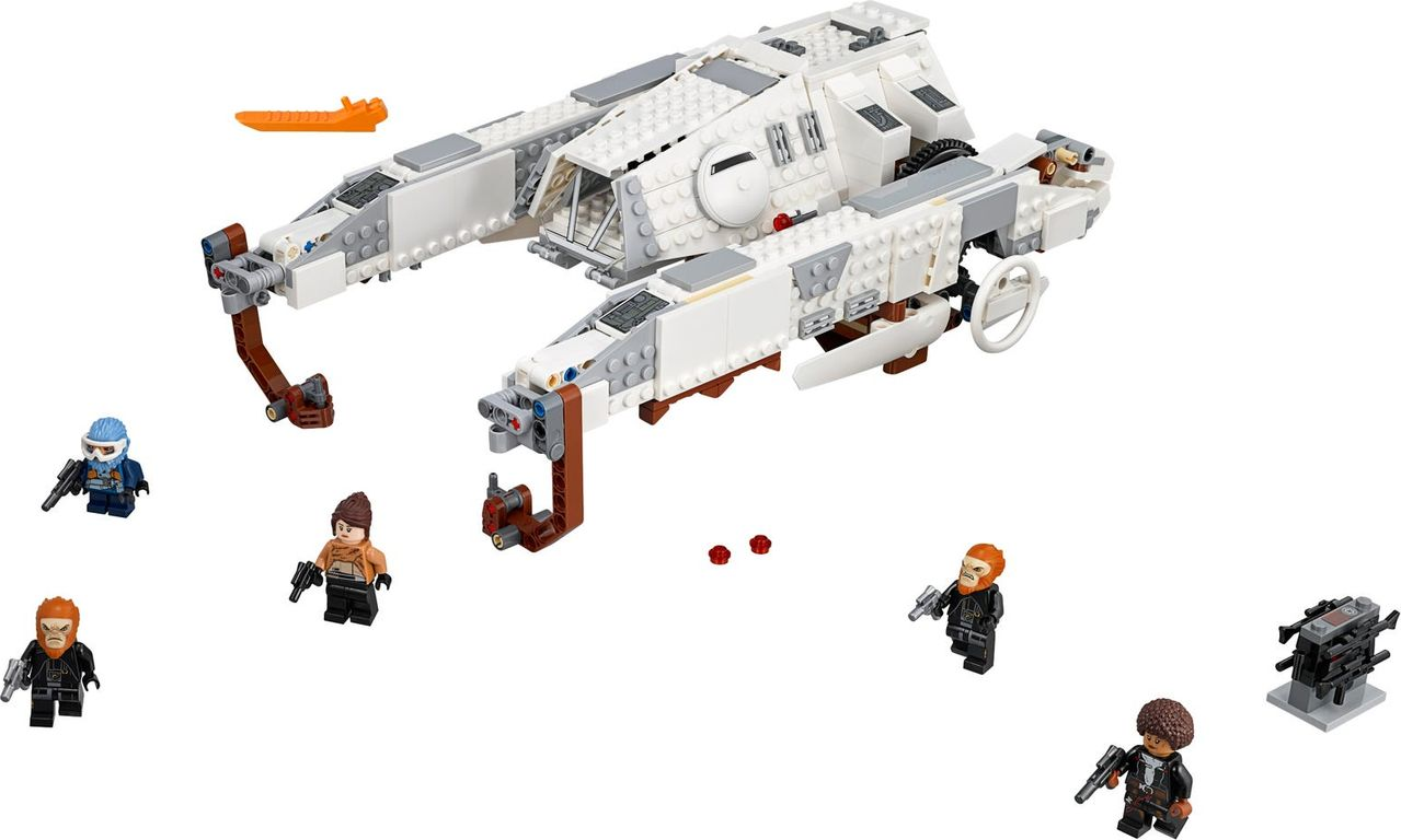 LEGO® Star Wars Imperial AT-Hauler™ components