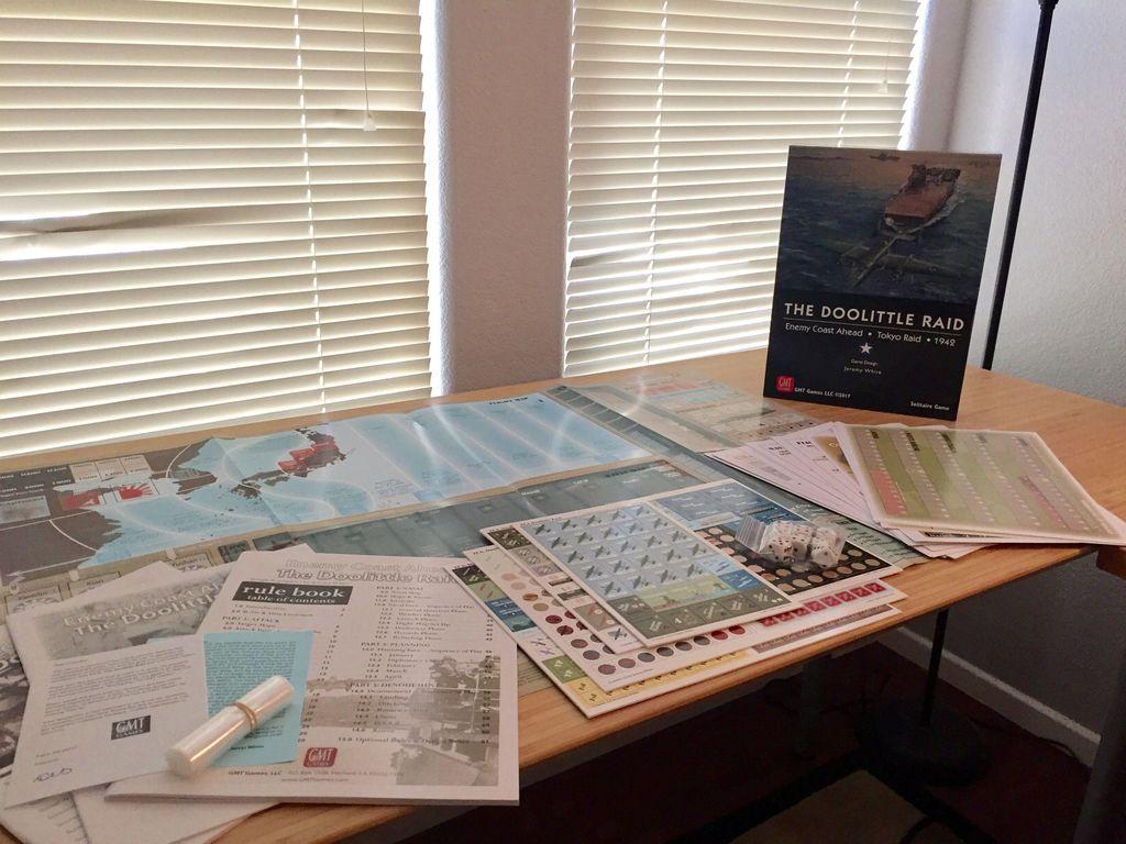 Enemy Coast Ahead: The Doolittle Raid components