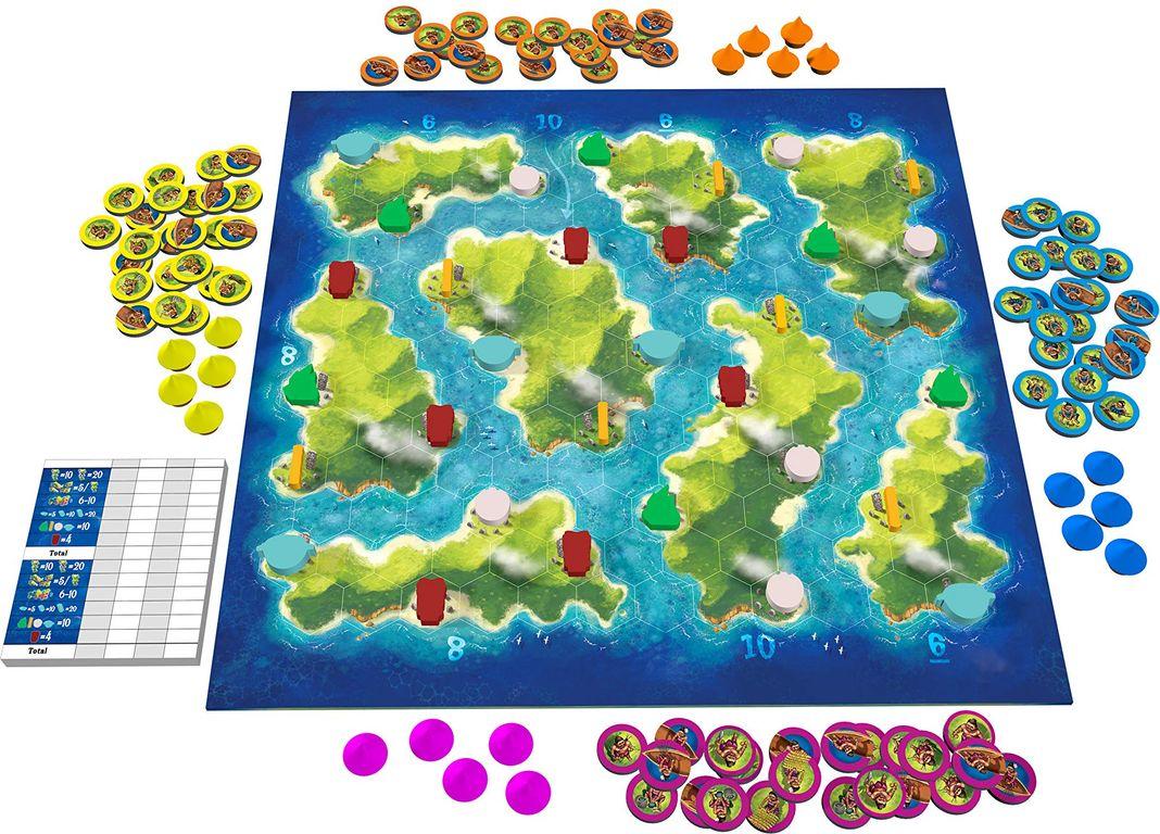 Blue Lagoon components