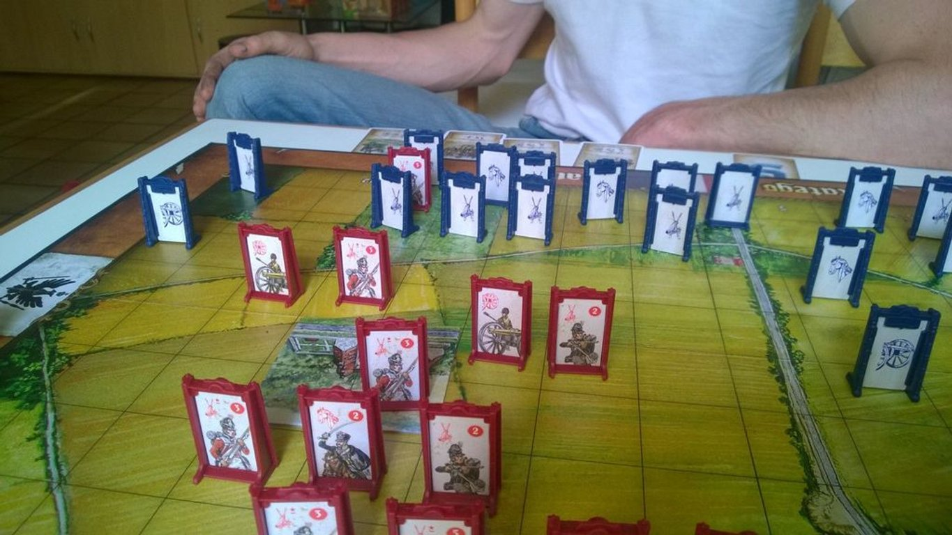 Stratego Waterloo components