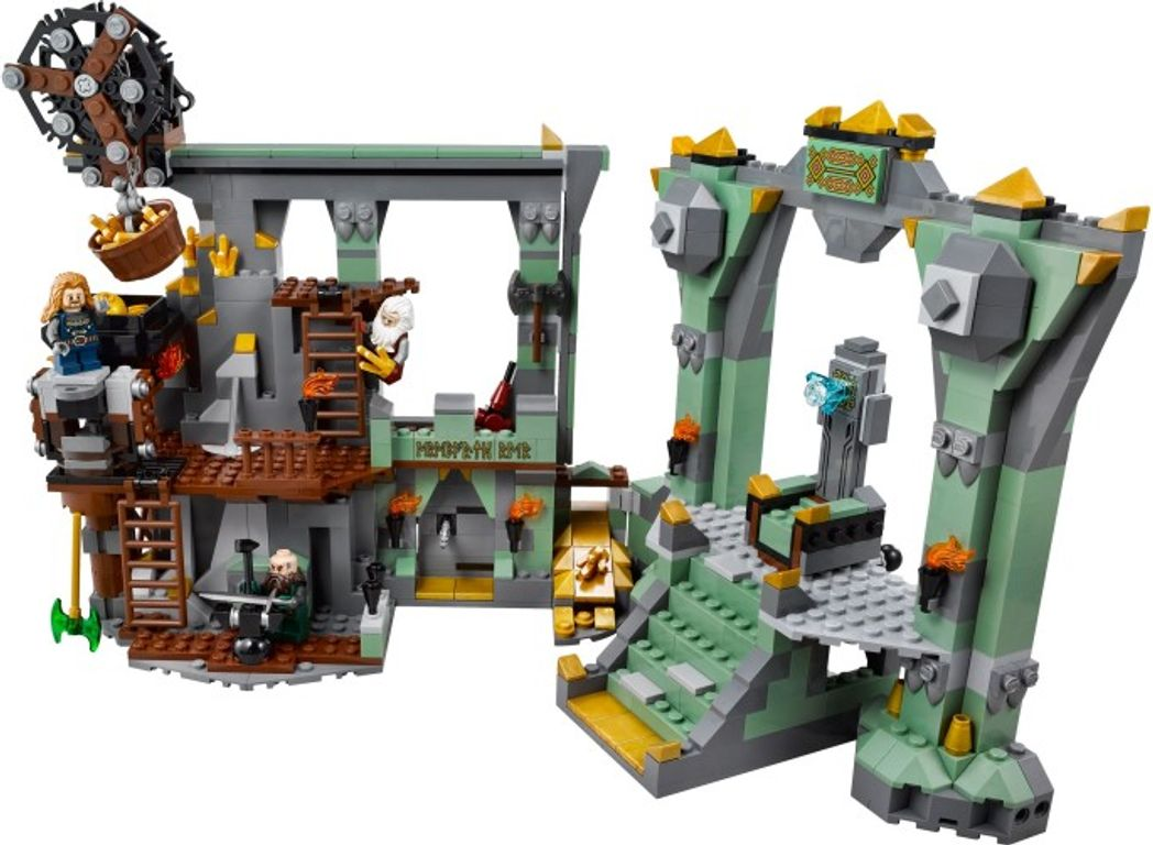 LEGO® The Hobbit The Lonely Mountain components