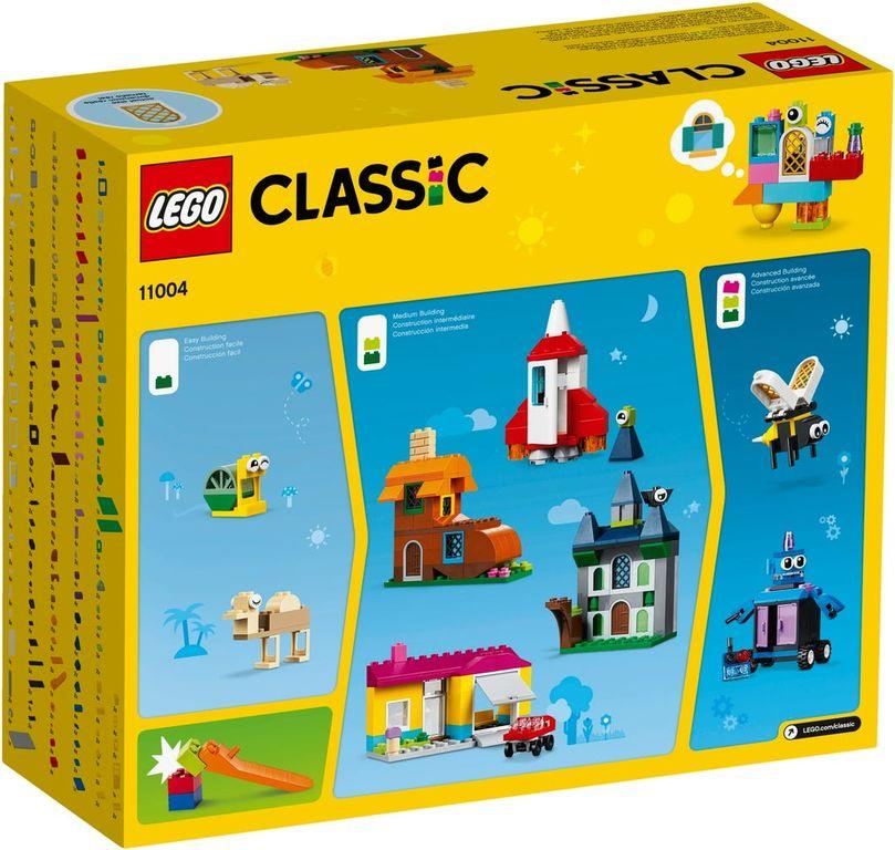 LEGO® Classic Windows of Creativity back of the box