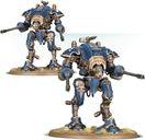 Warhammer 40.000 Imperial Knights Arminger Helverins miniatures