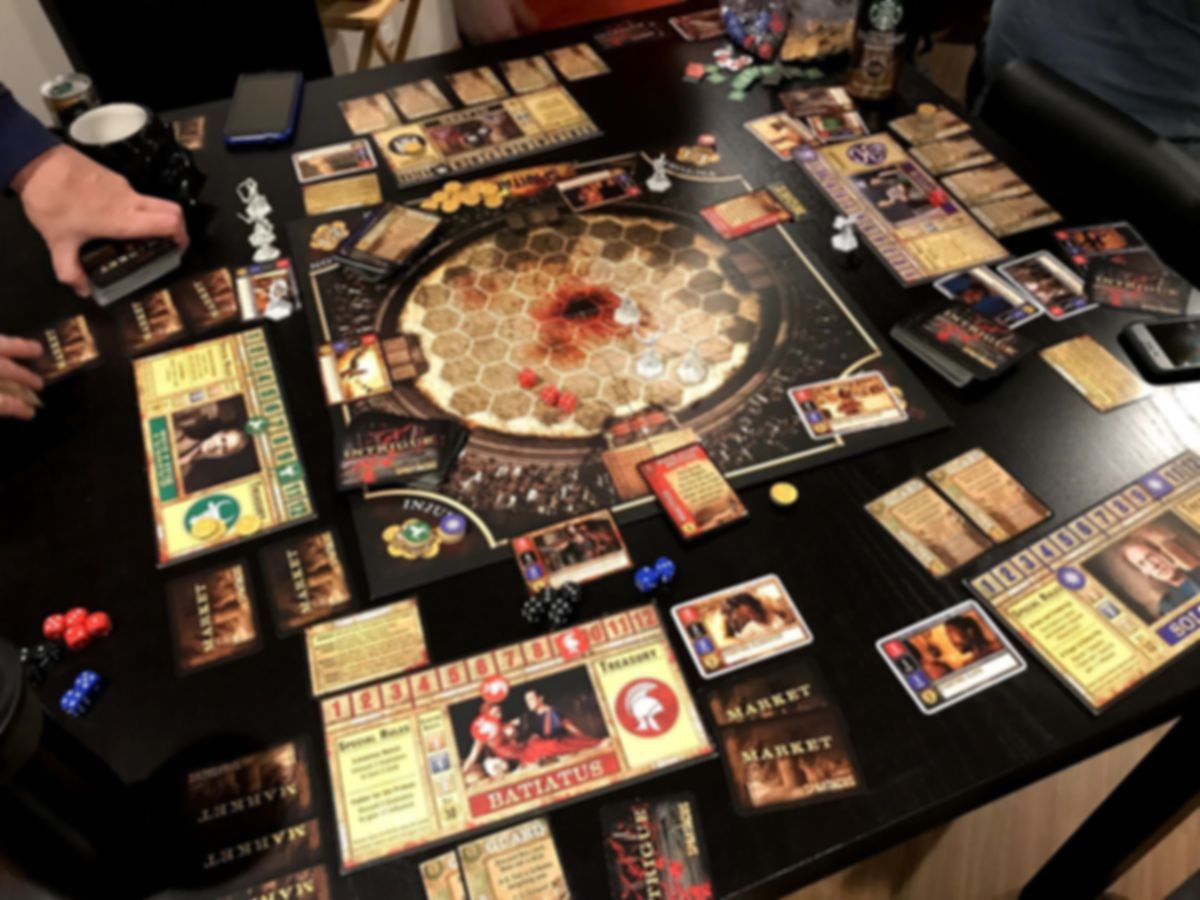 Spartacus: A Game of Blood & Treachery gameplay