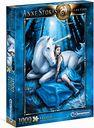 Anne Stokes: Blue Moon