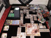 Doom: The Boardgame components