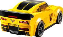 LEGO® Speed Champions Chevrolet Corvette Z06 back side