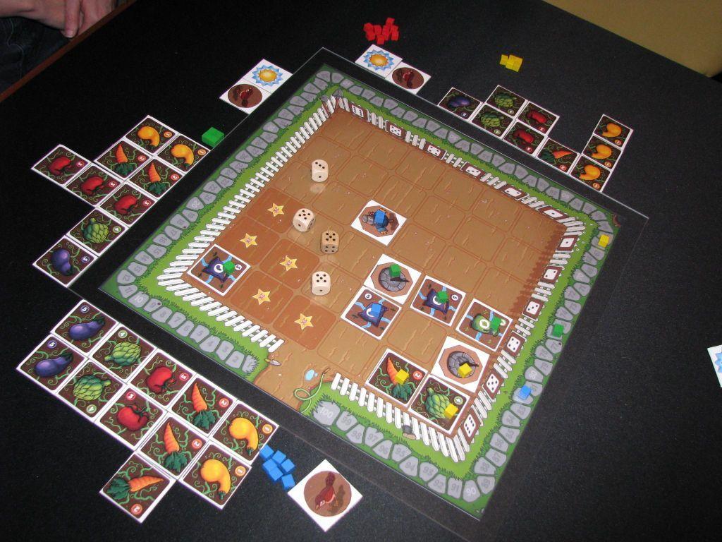 Garden Dice gameplay