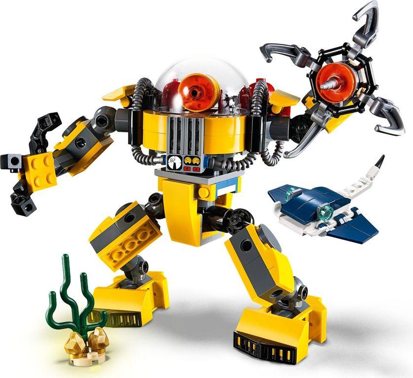 LEGO® Creator Underwater Robot gameplay