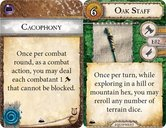 Runebound (Third Edition): The Mountains Rise - Adventure Pack cards