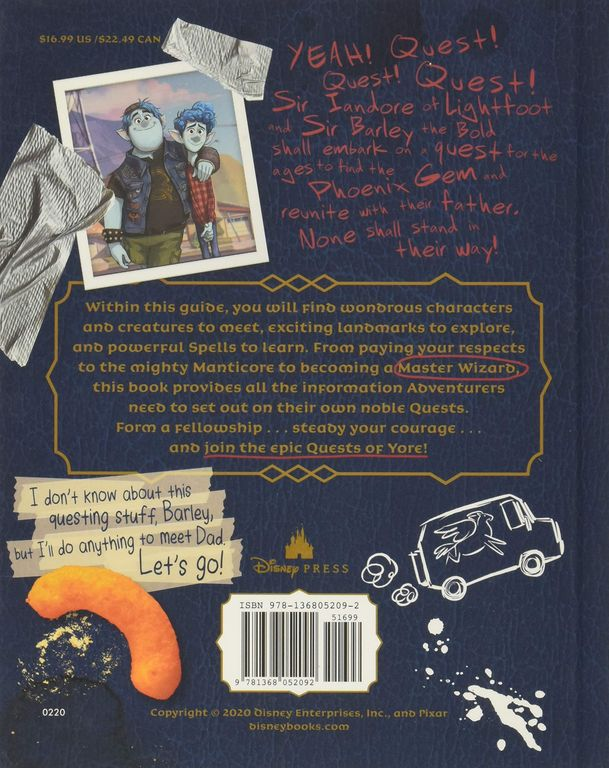 Quests of Yore: Barley's Edition back of the box