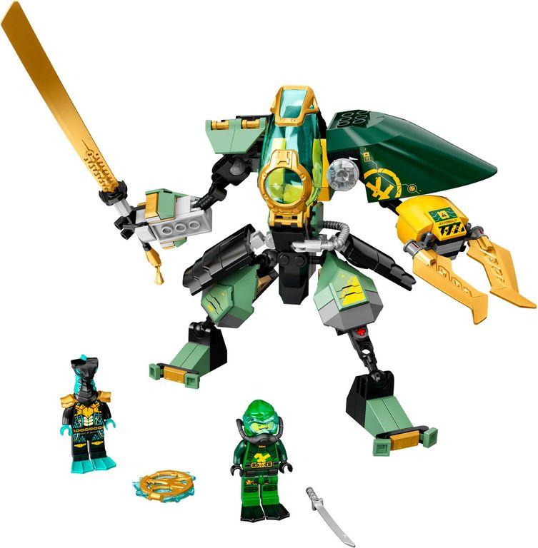 LEGO® Ninjago Lloyd's Hydro Mech components