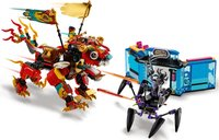 LEGO® Monkie Kid Monkie Kid's Lion Guardian gameplay
