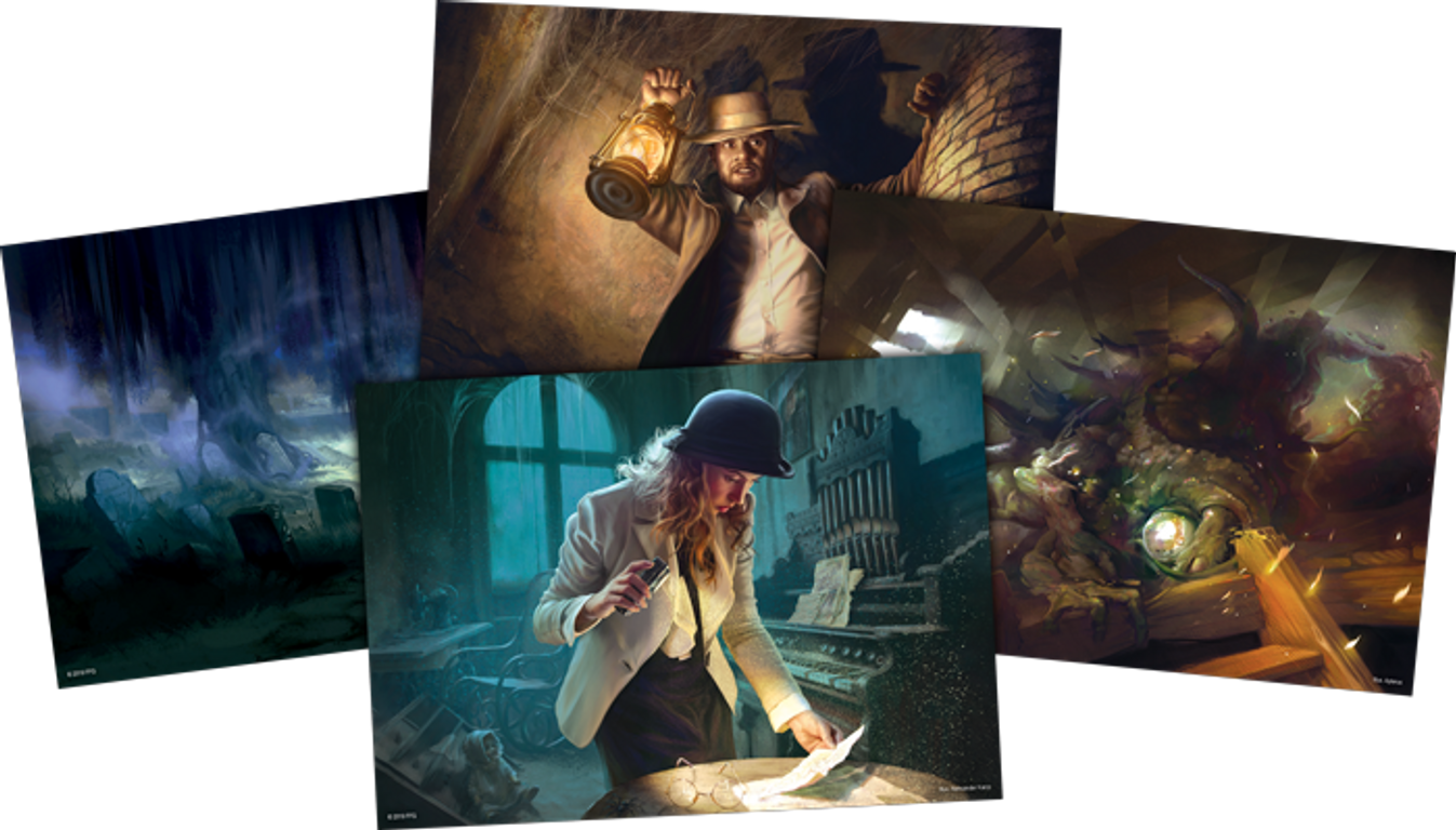 Arkham Horror: The Card Game - A Thousand Shapes of Horror: Mythos Pack cards
