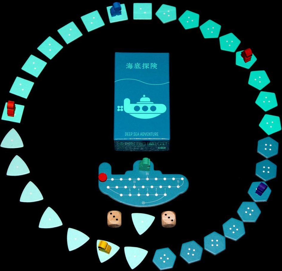 Deep Sea Adventure gameplay