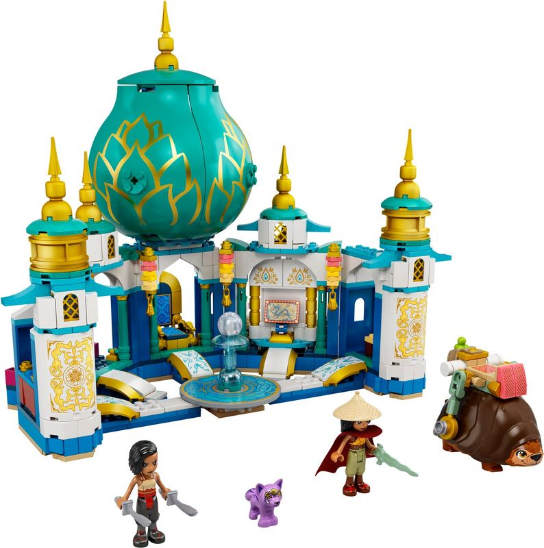 Raya and the Heart Palace components