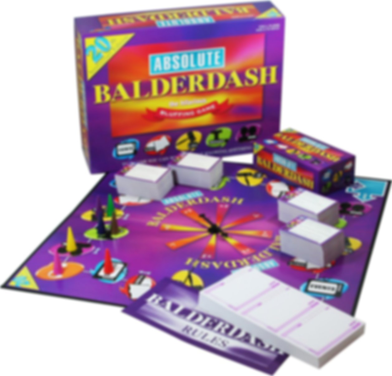 Absolute Balderdash components