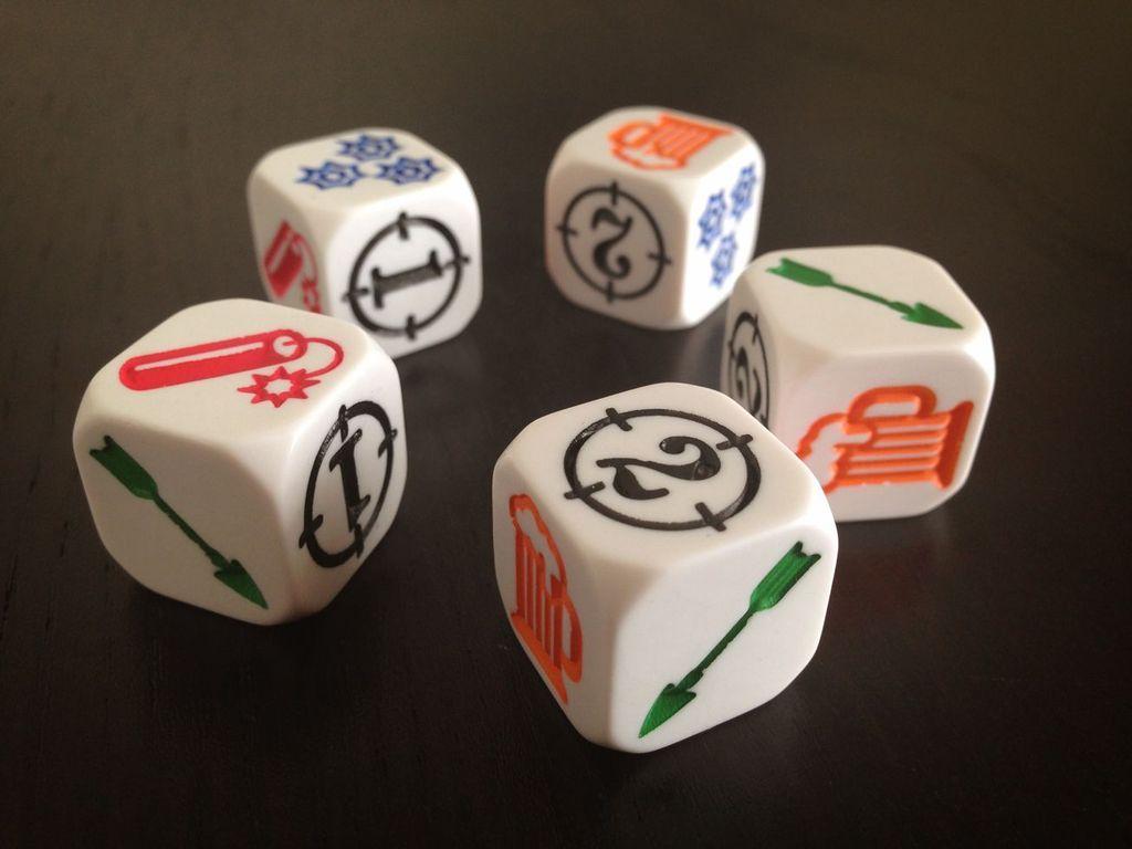 Bang! The Dice Game dice