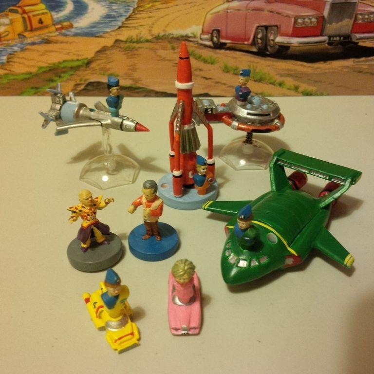 Thunderbirds miniatures