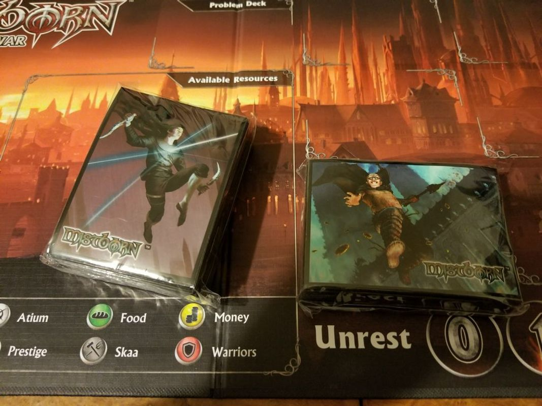 Mistborn: House War components