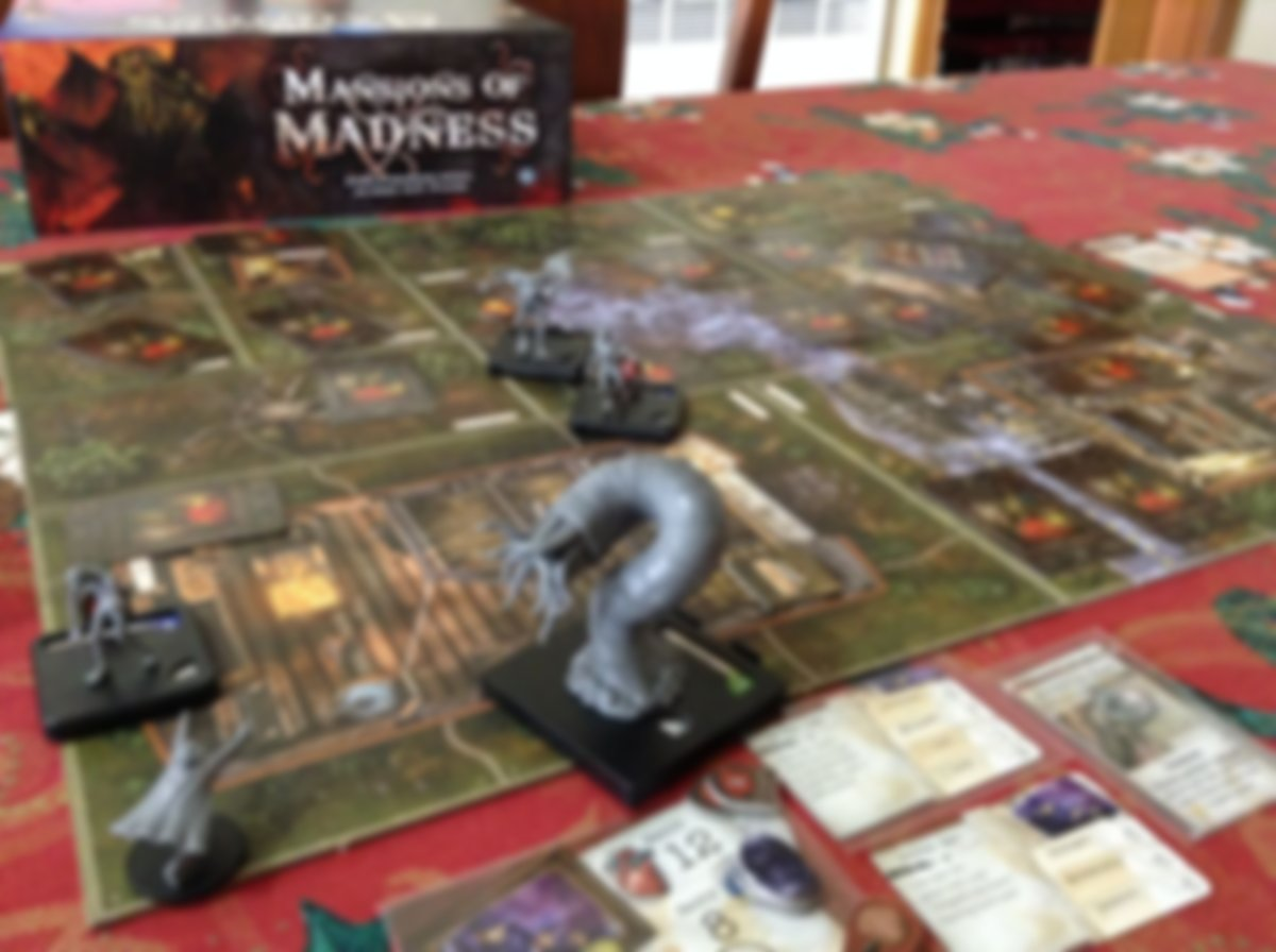 Mansions of Madness: Call of the Wild gameplay