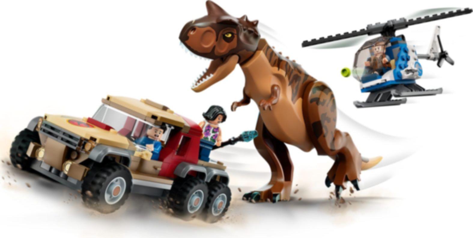 LEGO® Jurassic World Carnotaurus Dinosaur Chase gameplay