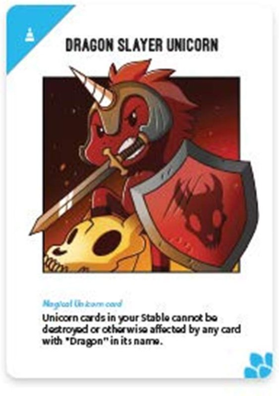 Unstable Unicorns: Dragons Expansion Pack card