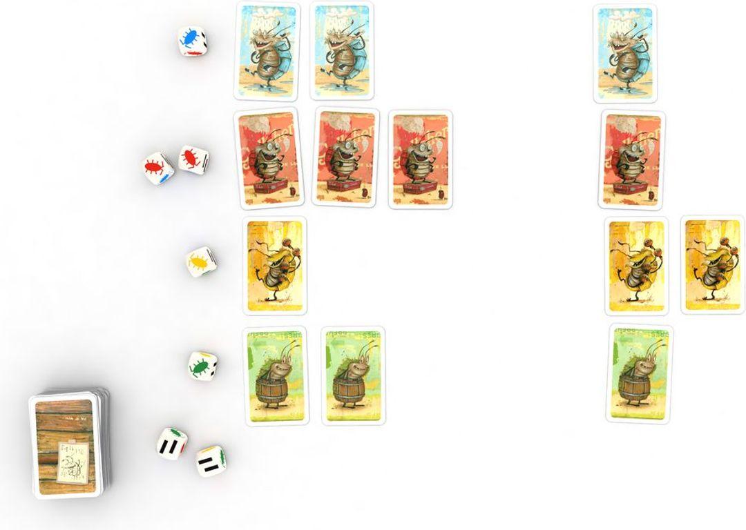 Voll verasselt cards