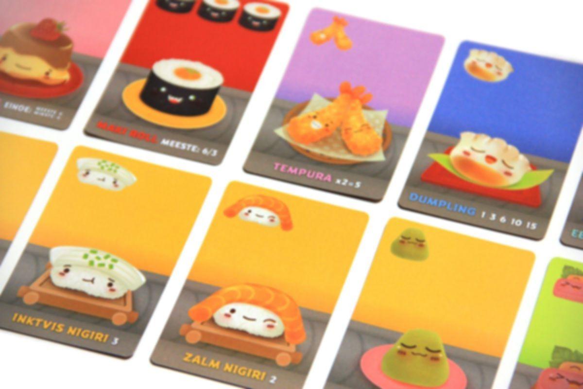 Sushi Go! cards