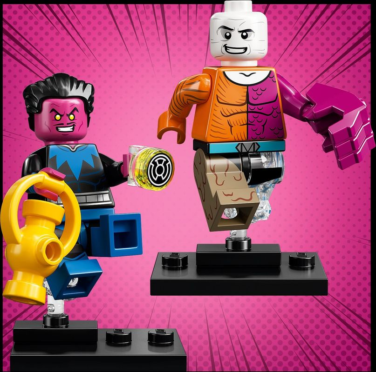 DC Super Heroes Series minifigures
