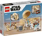LEGO® Star Wars Obi-Wan's Hut back of the box