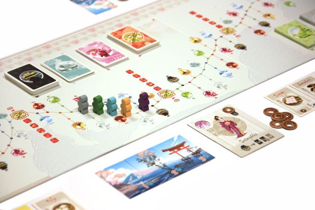 Tokaido gameplay