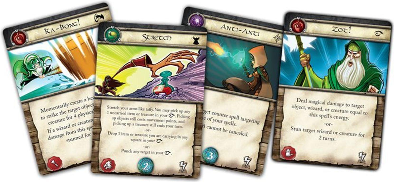 Wiz-War (eighth edition) cards