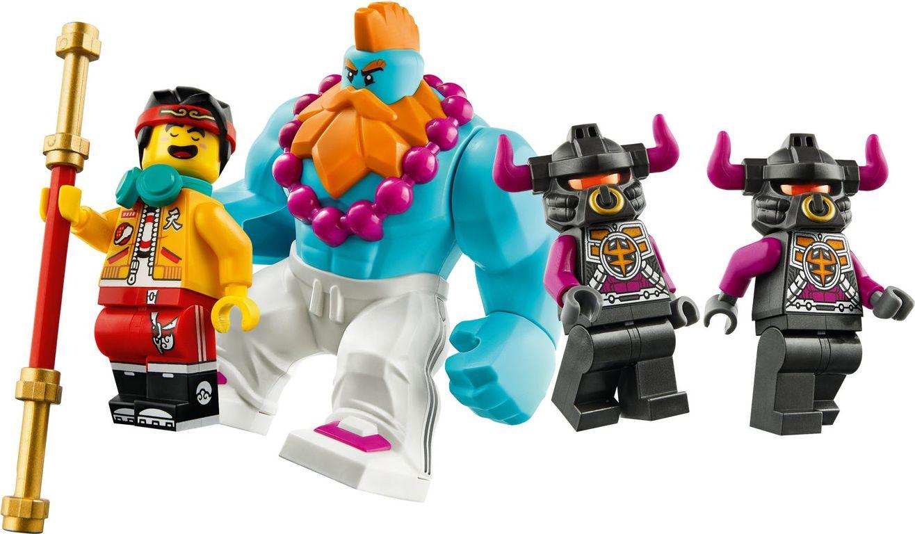 LEGO® Monkie Kid Iron Bull Tank minifigures