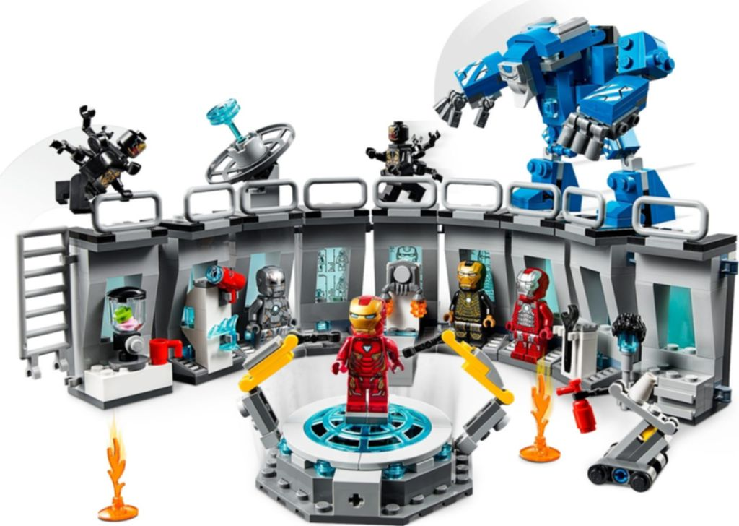Iron Man Hall of Armor gameplay