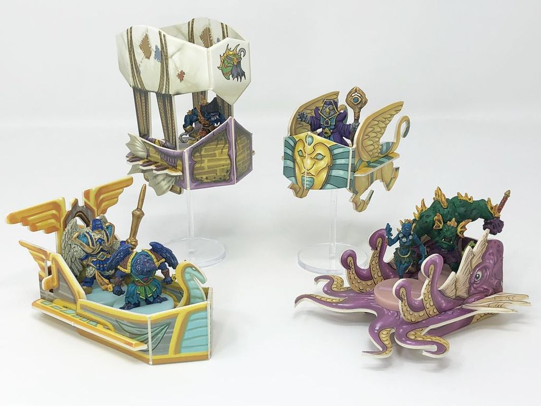 Heroes of Land, Air & Sea: Pestilence components