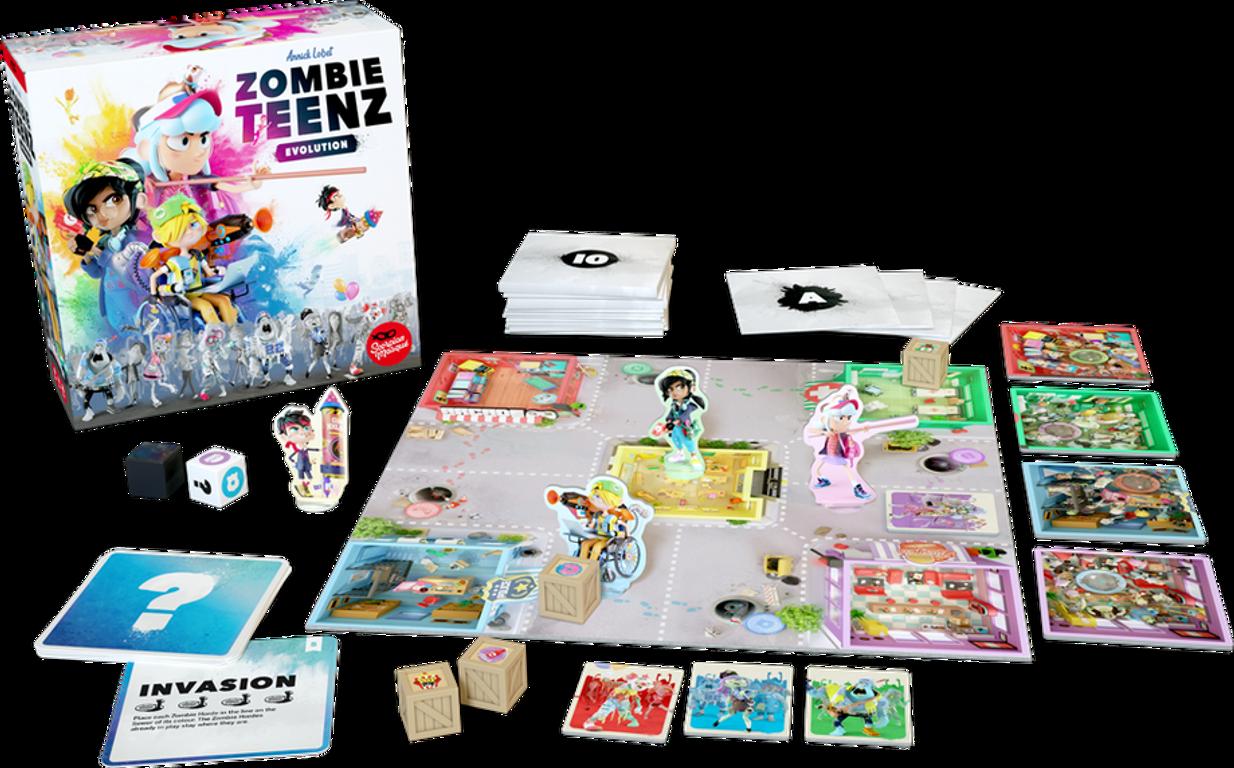 Zombie Teenz Evolution components