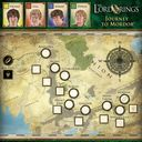 The Lord of the Rings: Journey to Mordor game board